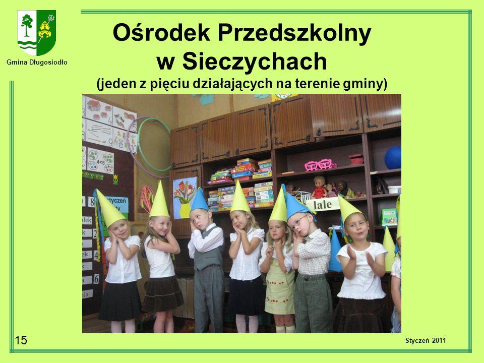 Gmina Długosiodło 15 Styczeń 2011 Ośrodek Przedszkolny w Sieczychach (jeden z pięciu działających na terenie gminy)
