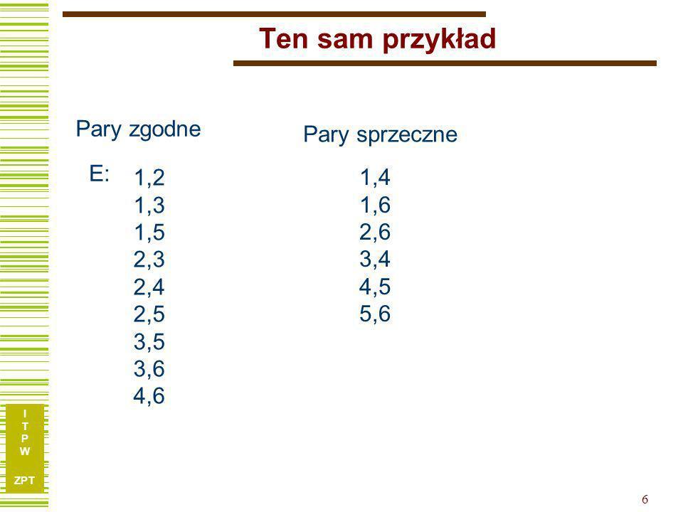 I T P W ZPT 7 Przykład...