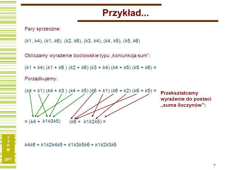 I T P W ZPT 8 Przykład...