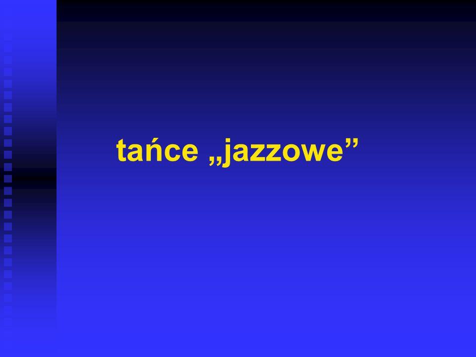 tańce jazzowe