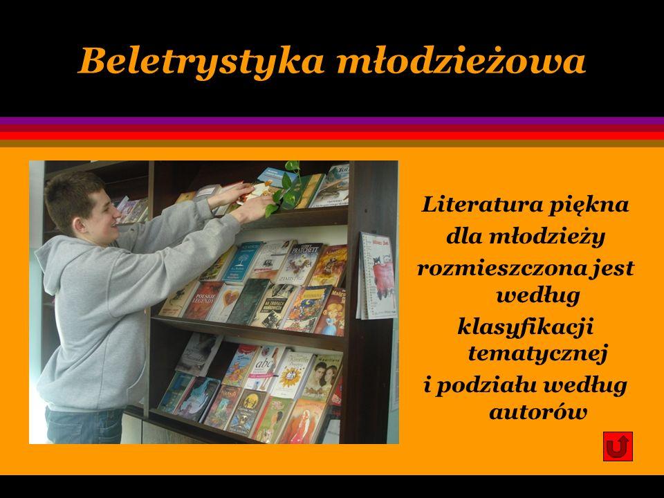 Księgozbiór podręczny encyklopedie ogólne i rzeczowe; słowniki językowe i rzeczowe; leksykony; inne wydawnictwa informacji bezpośredniej;