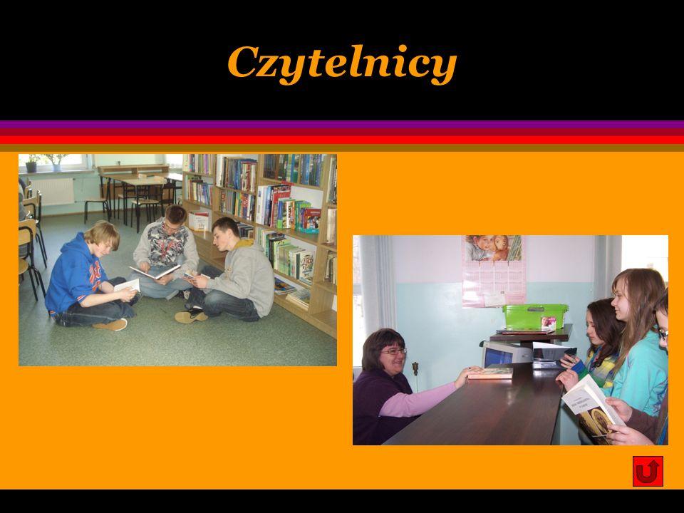 Regulamin biblioteki c.d. 4. Czytelnicy mogą wypożyczać książki w następujących limitach: l uczniowie: dwie książki na dwa tygodnie (większą ilość nal