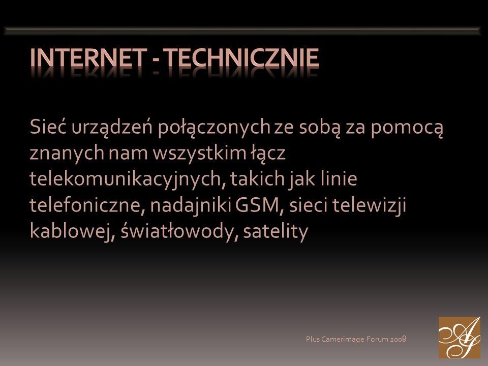 Plus Camerimage Forum 200 9 Hasło reklamowe: Internet jest wszędzie Wiele systemów prawnych, np.