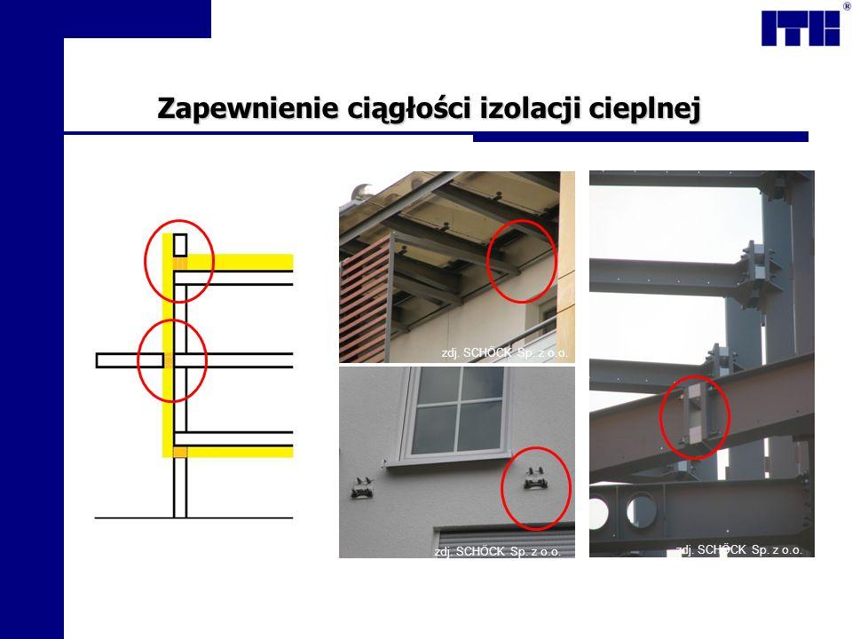Zapewnienie ciągłości izolacji cieplnej zdj. SCHÖCK Sp. z o.o.