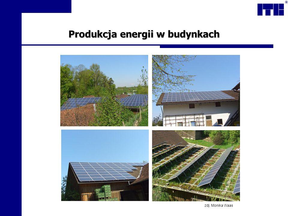 Produkcja energii w budynkach zdj. Monika Waas