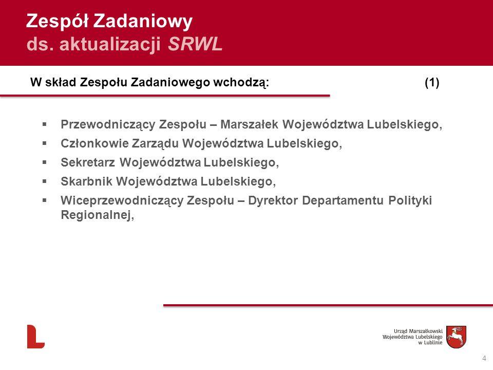 Dodatkowe informacje 15 Wszystkie informacje dotyczące procesu aktualizacji Strategii będą na bieżąco udostępniane na stronie: www.strategia.lubelskie.pl Kontakt : strategia@lubelskie.pl