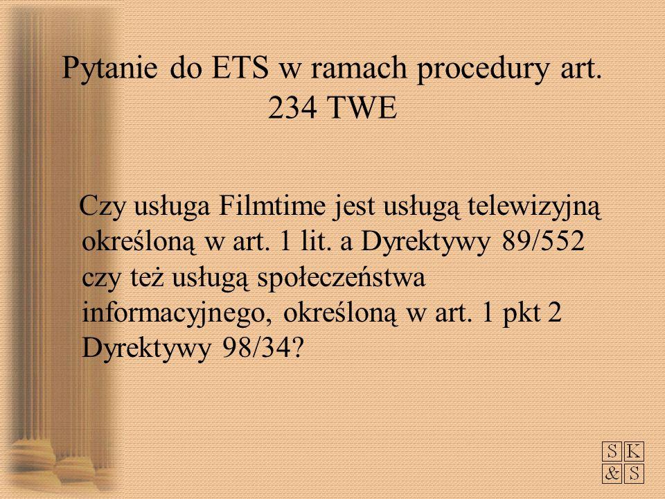 Pytanie do ETS w ramach procedury art.