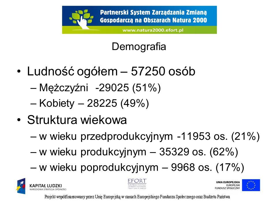 Wynagrodzenia Przeciętne miesięczne wynagrodzenia brutto 2008200920102011 Powiat Suwalski w zł 2395,7 4 2534,5 2 2613,3 5 2695,7 5 Przeciętne miesięczne wynagrodzenia brutto w relacji do średniej krajowej (Polska=100) 75,976,476,174,4 Powiat Sejneński w zł 2507,1 4 2634,0 4 2919,7 7 3182,2 0 Przeciętne miesięczne wynagrodzenia brutto w relacji do średniej krajowej (Polska=100) 79,4 85,087,8