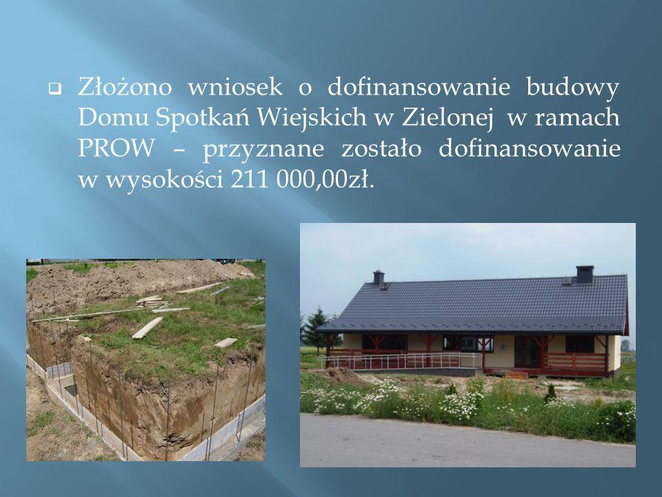 Remont drogi gminnej Drwinia – Zielona.