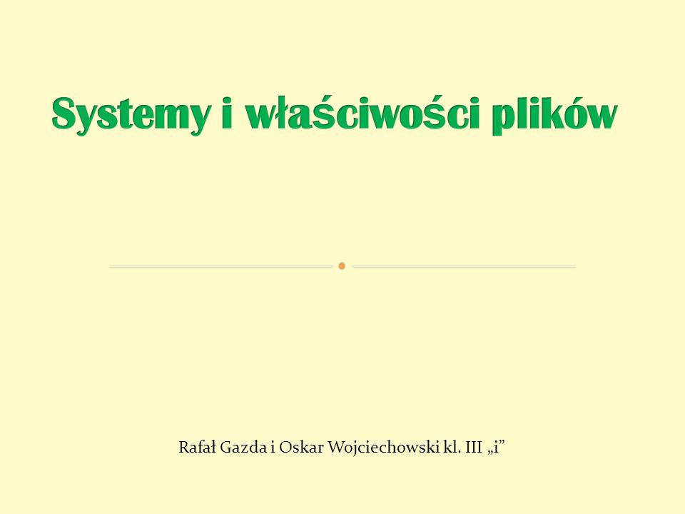 Rafał Gazda i Oskar Wojciechowski kl. III i