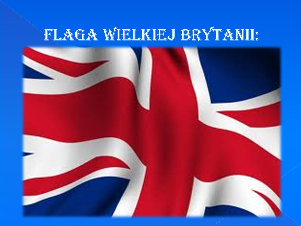 Flaga Wielkiej Brytanii: