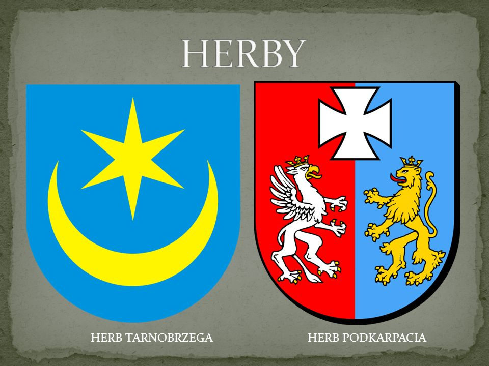 HERB TARNOBRZEGAHERB PODKARPACIA