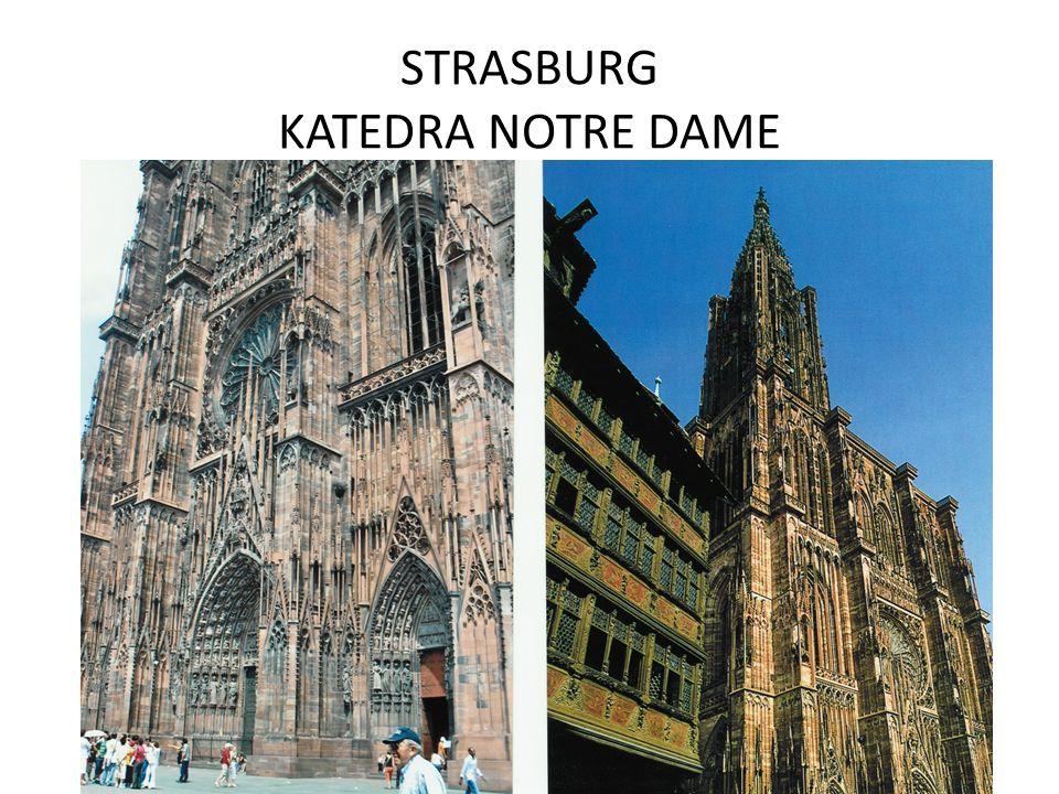 STRASBURG KATEDRA NOTRE DAME