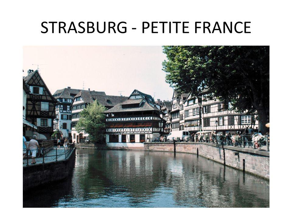STRASBURG - PETITE FRANCE
