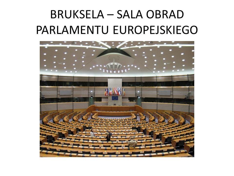 BRUKSELA – SALA OBRAD PARLAMENTU EUROPEJSKIEGO