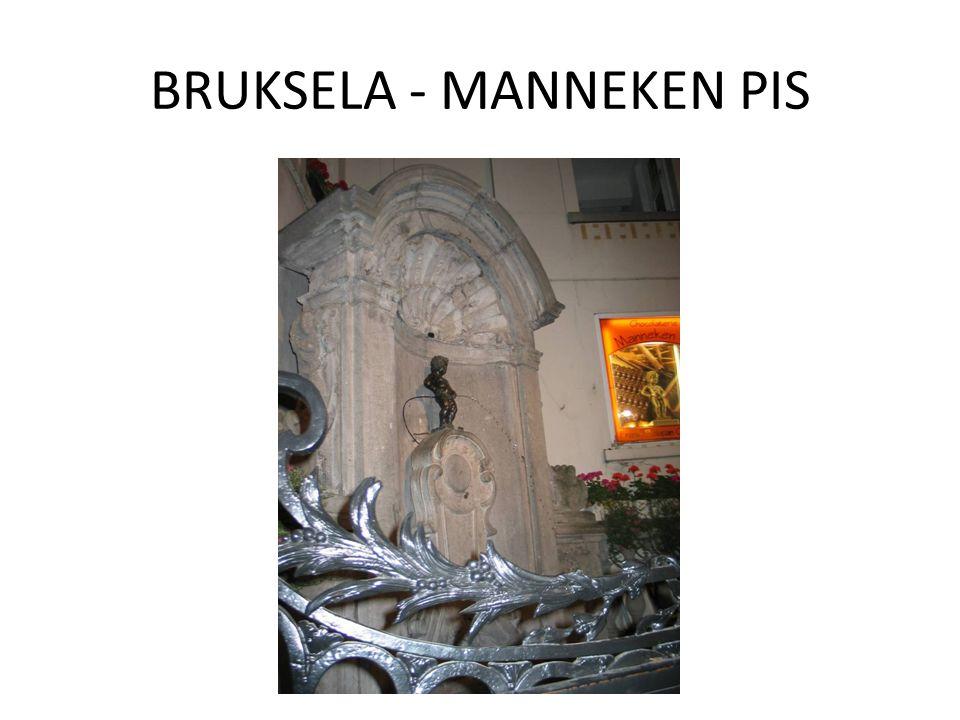 BRUKSELA - MANNEKEN PIS
