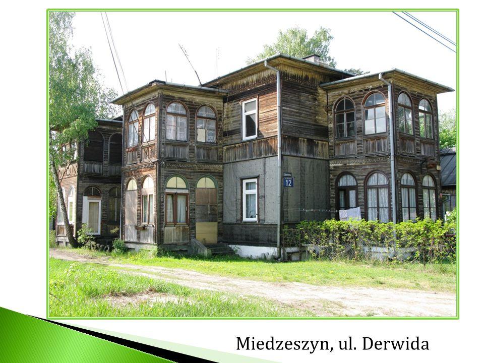 Miedzeszyn, ul. Derwida