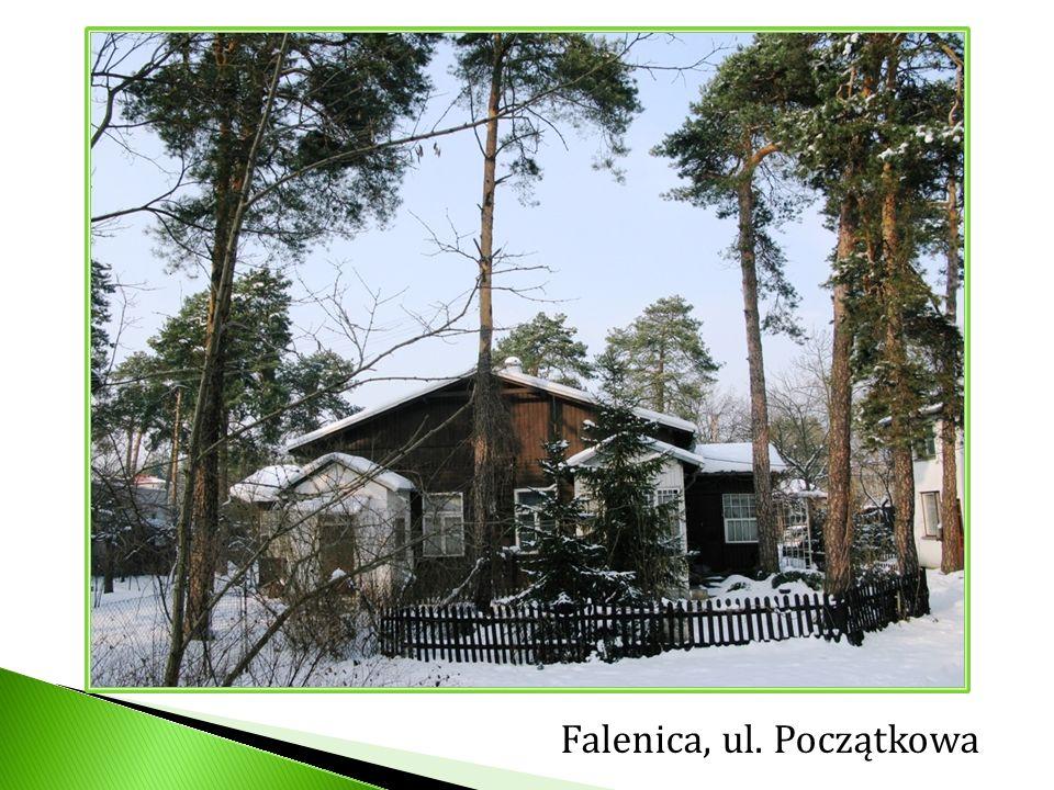 Falenica, ul. Początkowa