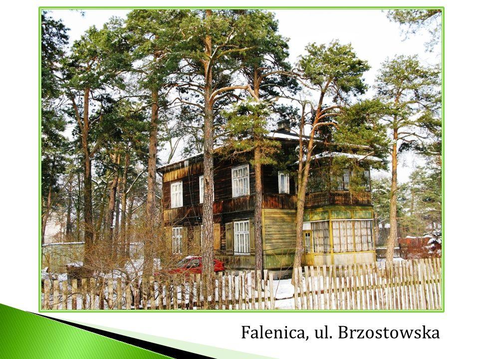 Falenica, ul. Brzostowska