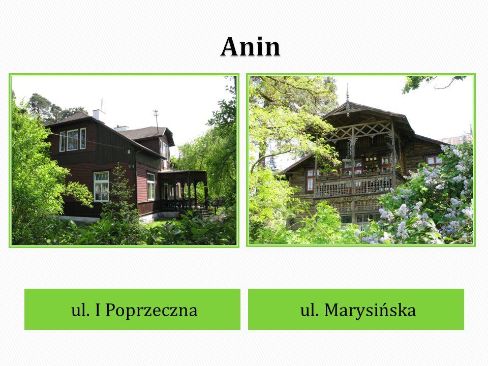 Anin, ul. Stradomska