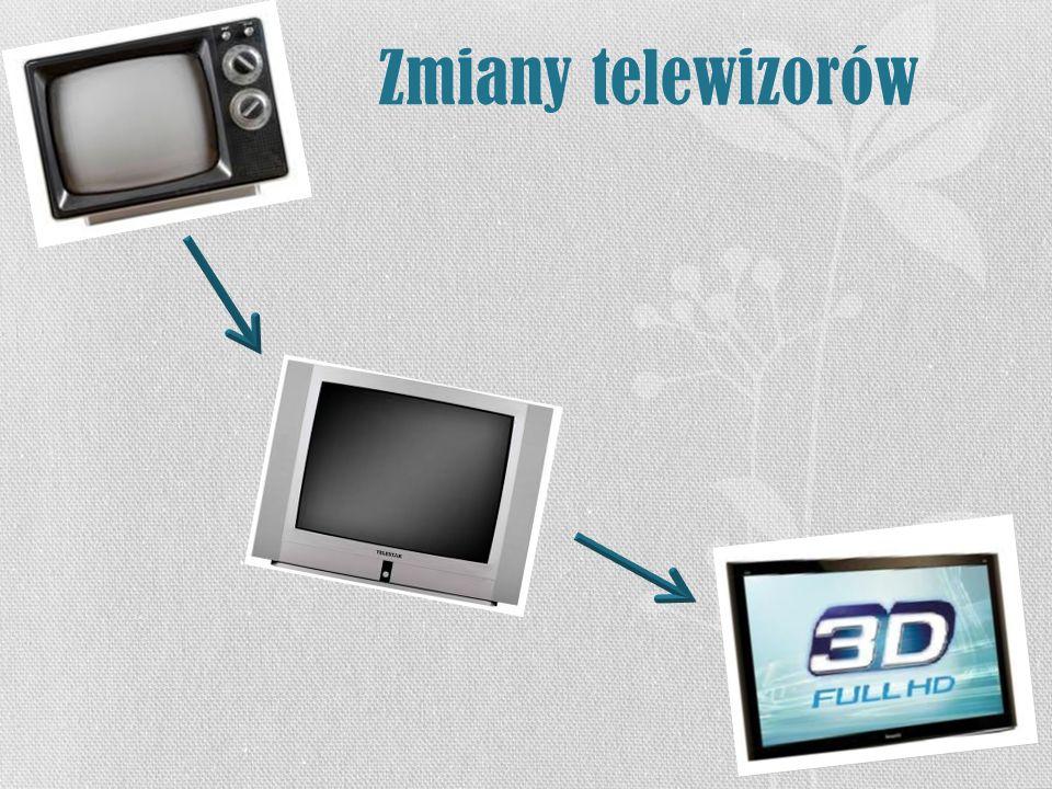 Zmiany telewizorów