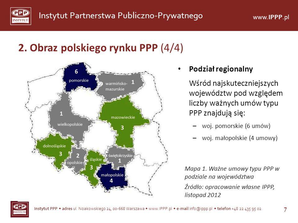 Instytut PPP adres ul. Noakowskiego 24, 00-668 Warszawa www.IPPP.pl e-mail info@ippp.pl telefon +48 22 435 95 02 7 Instytut Partnerstwa Publiczno-Pryw