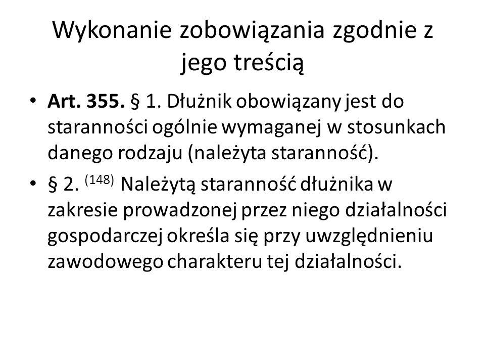 Zasada nominalizmu i mała clausula rebus sic stantibus Art.