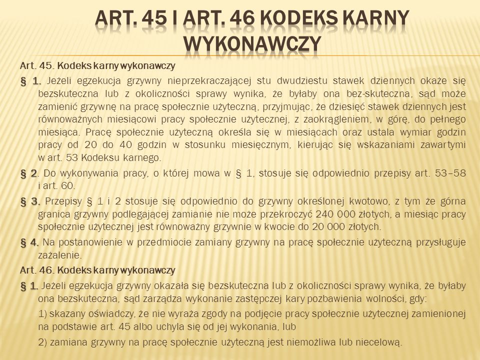 W trakcie realizacji zadania w roku 2012 Zespoły Kuratorskiej Służby Sądowej do Wykonywania Orzeczeń w Sprawach Karnych (zwane dalej ZKSS) dla Wrocławia-Śródmieścia i Wrocławia-Fabrycznej skierowały do Stowarzyszenia Pomocy Ludzie Ludziom łącznie 567 wyroki orzekające karę ograniczenia wolności poprzez wykonywanie nieodpłatnej kontrolowanej pracy na cele społeczne oraz pracę społecznie użyteczną orzekaną w zamian nieściągalnej grzywny : ZKSS dla Wrocławia – Śródmieścia 391 wyroków, ZKSS dla Wrocławia - Fabrycznej 176 wyroków.