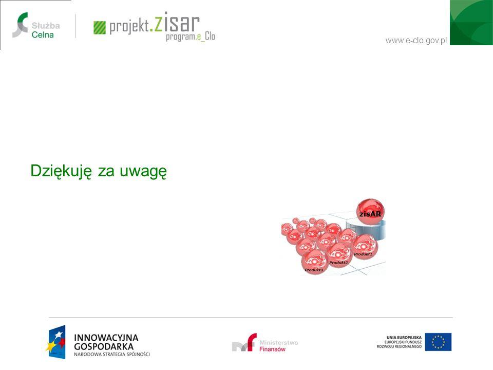 www.e-clo.gov.pl Dziękuję za uwagę USER