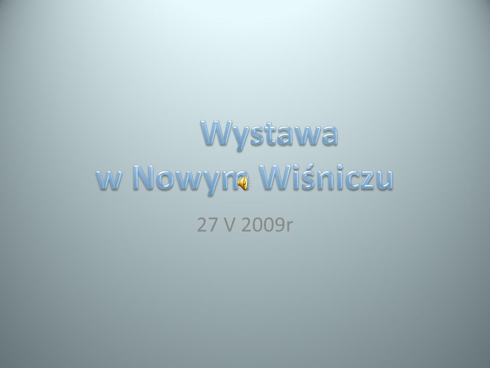 27 V 2009r