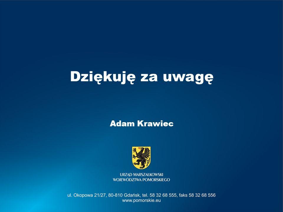 Dziękuję za uwagę Adam Krawiec
