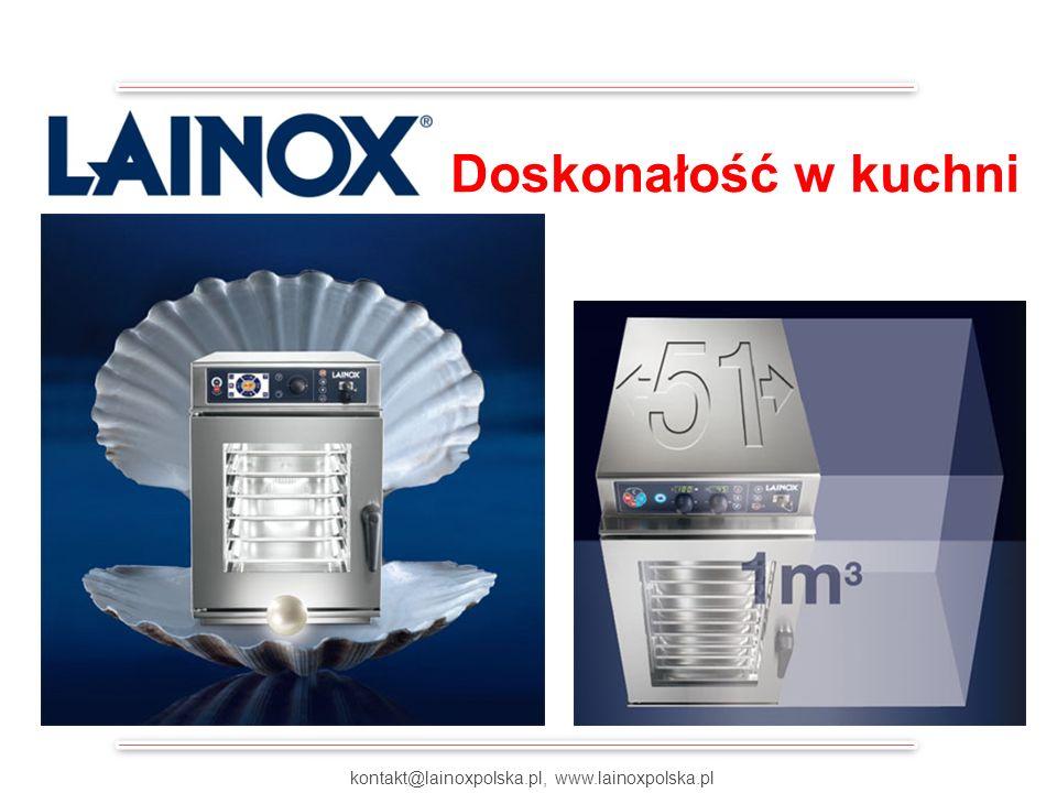 COMPACT – MINIMALNA PRZESTRZEŃ MAKSYMALNA WYDAJNOŚĆ kontakt@lainoxpolska.pl, www.lainoxpolska.pl Doskonałość w kuchni
