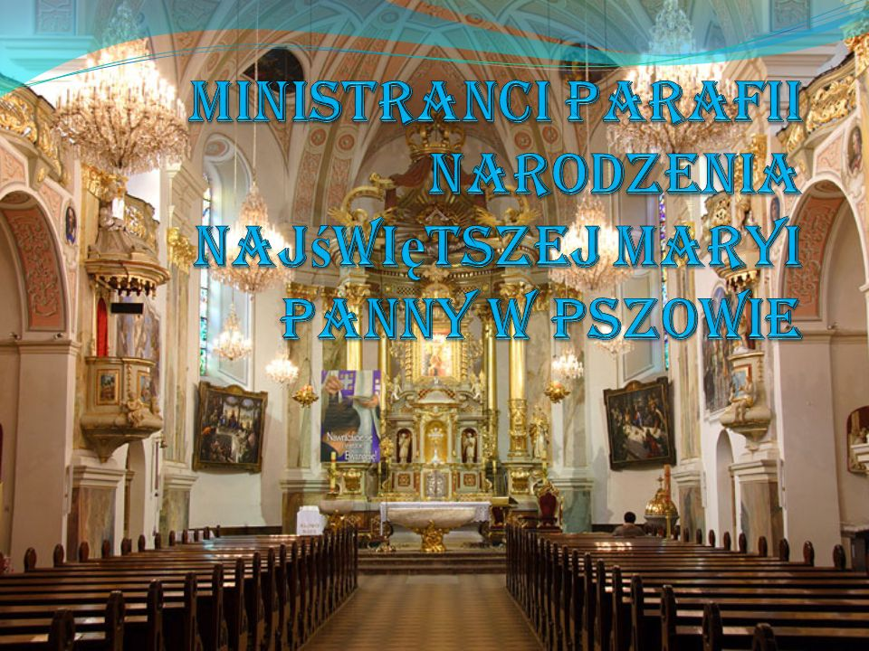 Opiekun liturgicznej służby ołtarza w Parafii Najświętszej Marii Panny w Pszowie ks.