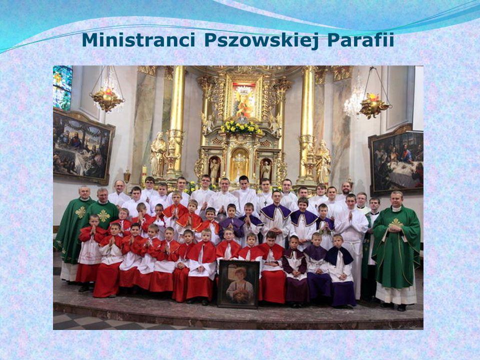 Ministranci Pszowskiej Parafii