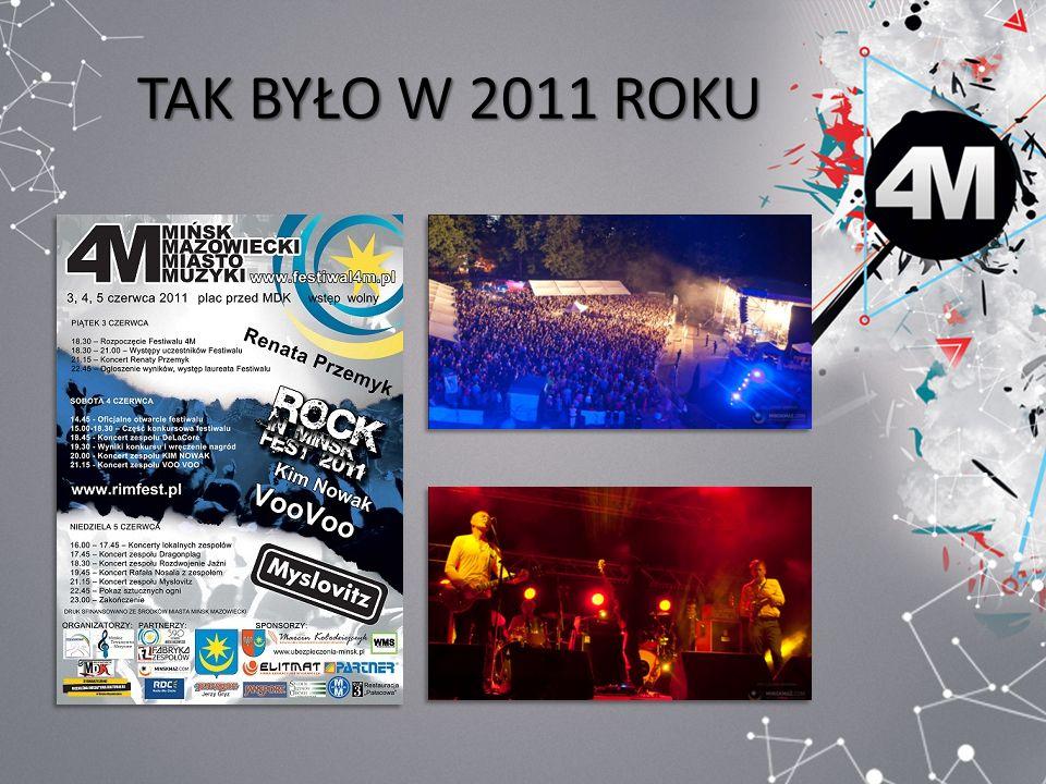 KONTAKT www.festiwal4m.pl Osoby zainteresowane współpracą prosimy o kontakt: Małgorzata Zakrzewska, Dariusz Kulma tel.
