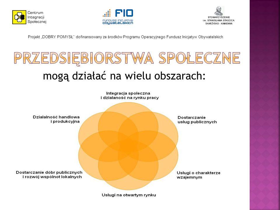 mogą działać na wielu obszarach: Projekt DOBRY POMYSŁ dofinansowany ze środków Programu Operacyjnego Fundusz Inicjatyw Obywatelskich