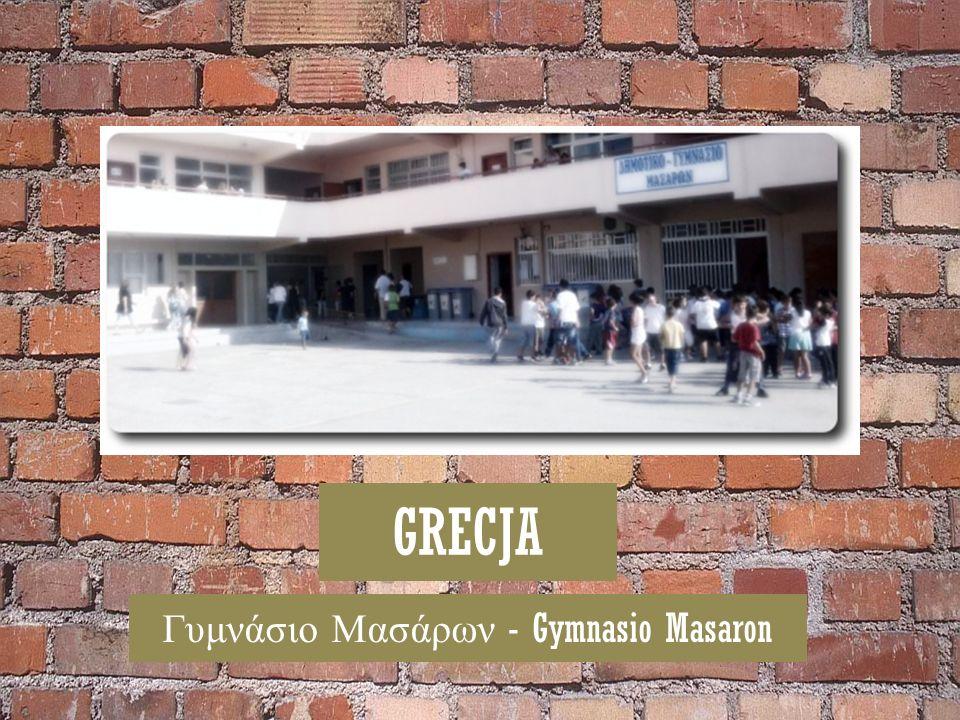 GRECJA Γυμνάσιο Μασάρων - Gymnasio Masaron
