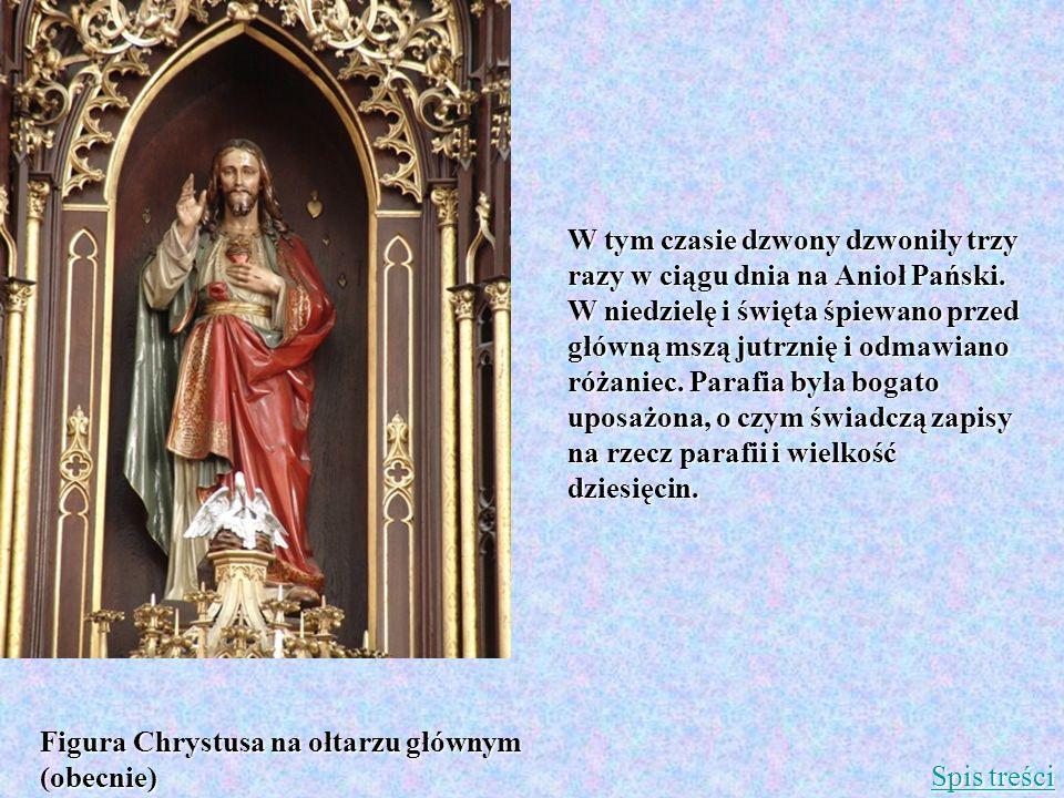 W tym czasie dzwony dzwoniły trzy razy w ciągu dnia na Anioł Pański. W niedzielę i święta śpiewano przed główną mszą jutrznię i odmawiano różaniec. Pa