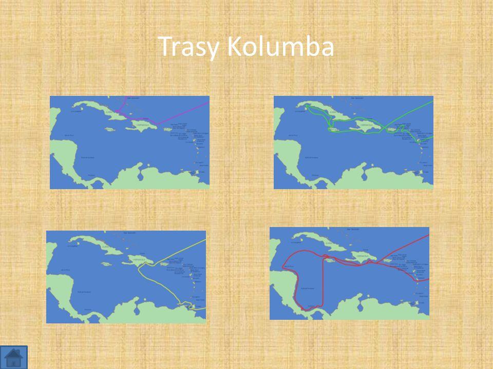 Trasy Kolumba