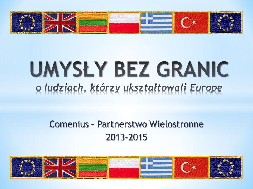 Comenius – Partnerstwo Wielostronne 2013-2015
