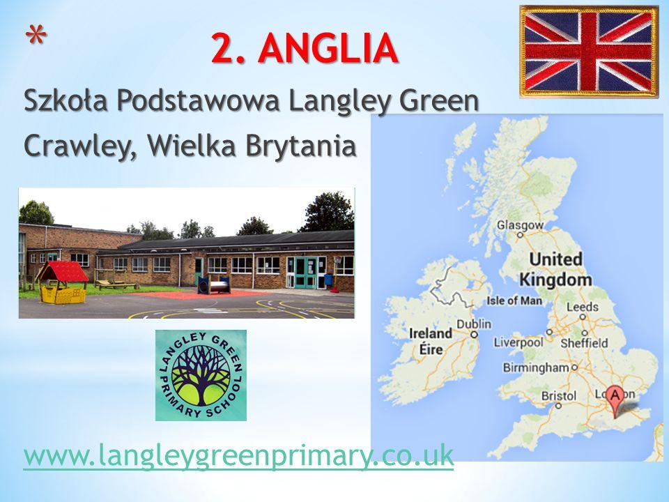 * 2. ANGLIA Szkoła Podstawowa Langley Green Crawley, Wielka Brytania www.langleygreenprimary.co.uk