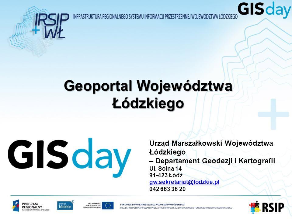 Spis treści: 1.Co to jest Geoportal Województwa Łódzkiego.