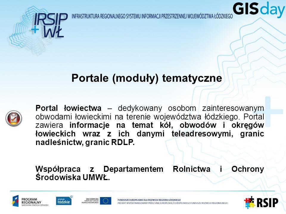 Portal łowiectwa – dedykowany osobom zainteresowanym obwodami łowieckimi na terenie województwa łódzkiego. Portal zawiera informacje na temat kół, obw