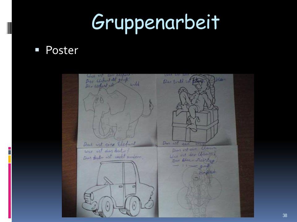Gruppenarbeit Poster 38