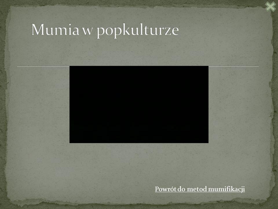 Powrót do metod mumifikacji