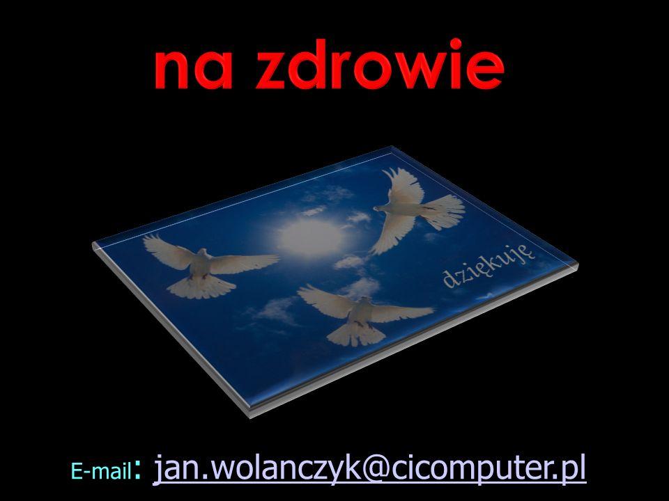 E-mail : jan.wolanczyk@cicomputer.pljan.wolanczyk@cicomputer.pl
