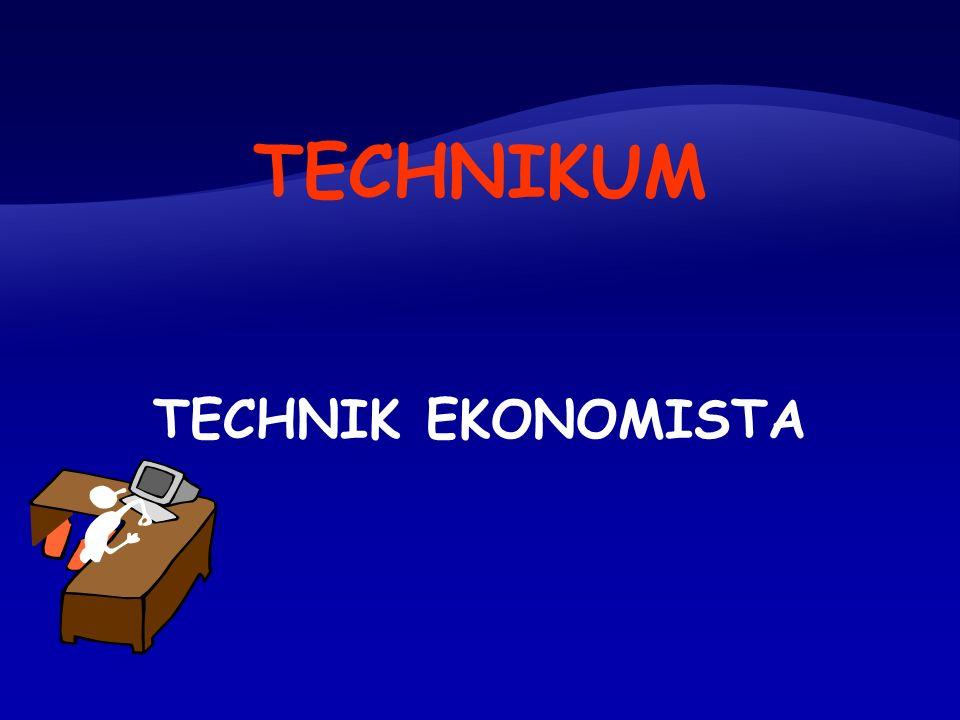 TECHNIK EKONOMISTA