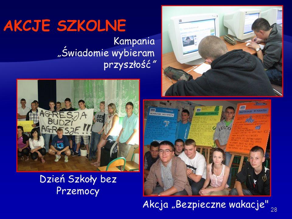 28 Dzień Szkoły bez Przemocy Akcja Bezpieczne wakacje