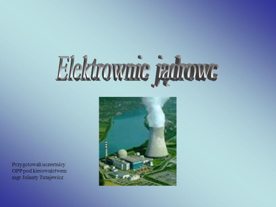W latach czterdziestych w związku z powstaniem pierwszych reaktorów powstał nowy typ elektrowni - elektrownie jądrowe.