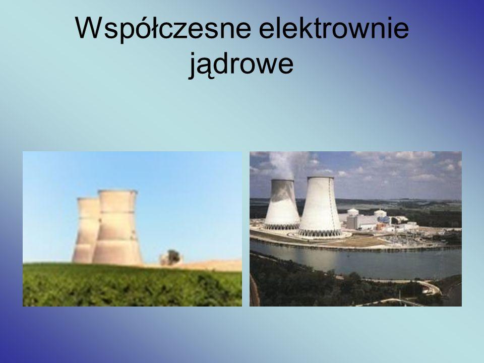 Współczesne elektrownie jądrowe